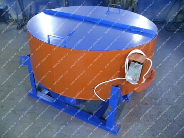 Бетоносмеситель СБ-медиум на 375 литров