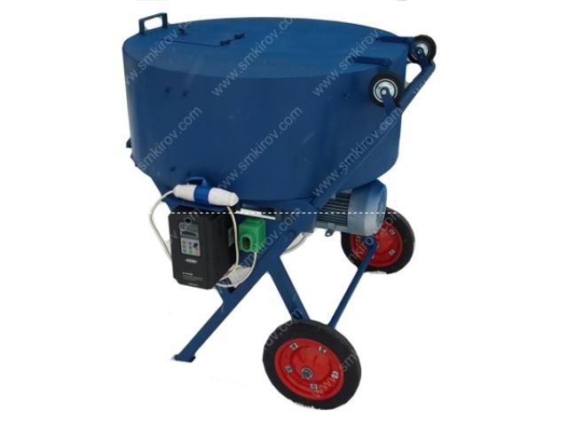 Принудательная бетономешалка СБ-мини 180 на 220 Вольт с регулировкой оборотов 20-80 в минуту