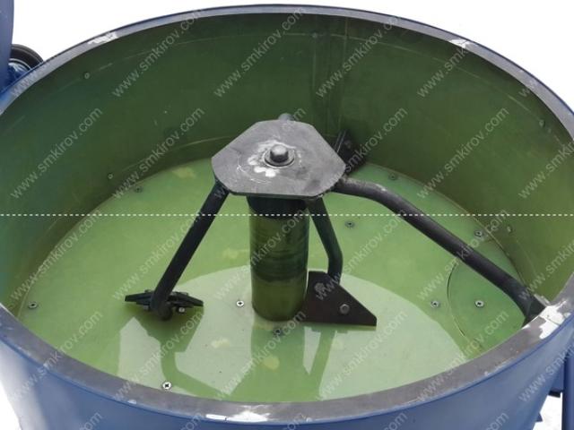 Бетономешалка СБ-мини 180 на 380 Вольт с полиуретановой футеровкой барабана