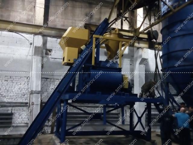 РБУ-Скип: БП-2Г-1000, ДКБ-15, Силос 40 тонн (г. Киров, ул. Коммунальная)