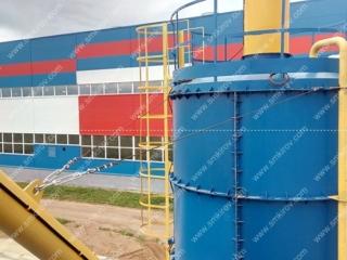 РБУ-Скип: БП-2Г-1600, ДКП-60, Силос 75 тонн (г. Киров, ул. Павла Корчагина)
