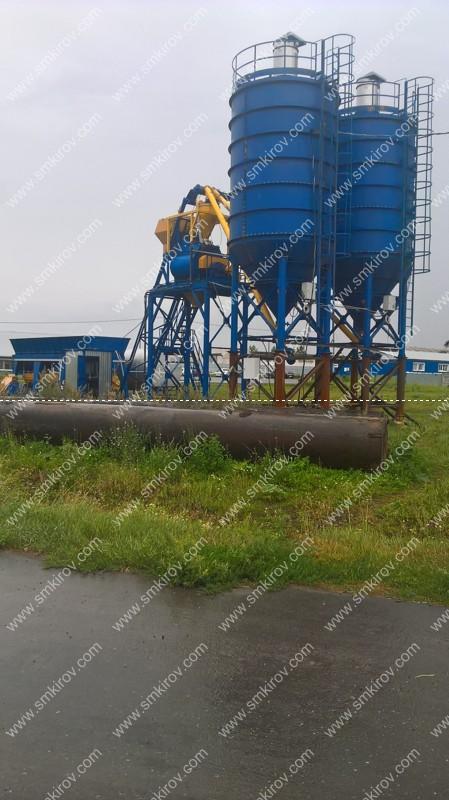 РБУ-Скип: БП-2Г-1600, ДКБ-15, Силос 75 тонн 2 шт. (г. Канаш, Чувашская Республика)