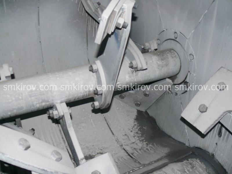 Двухвальный бетоносмеситель БП-2Г-1000 (без скипа)