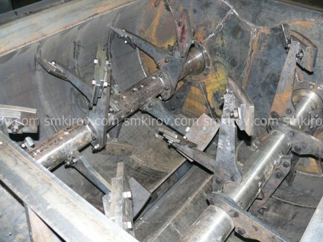 Двухвальный бетоносмеситель БП-2Г-1200С (со скипом)