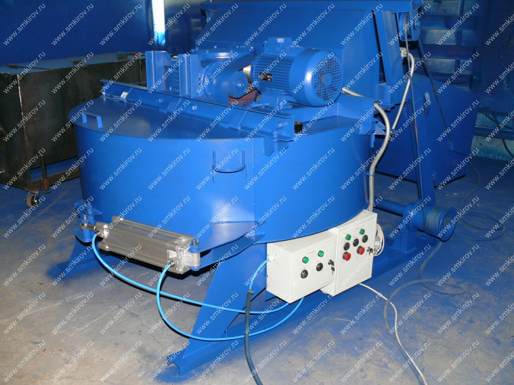 Пневмозатвор для бетоносмесителей СБ