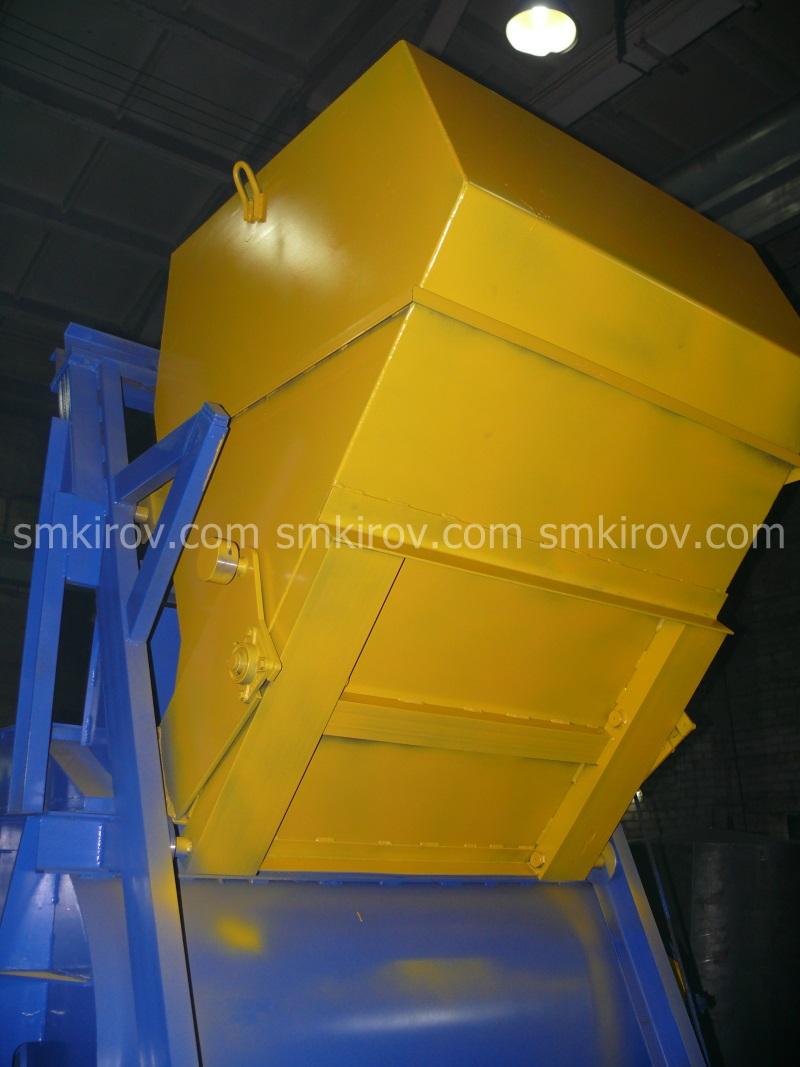 Двухвальный бетоносмеситель БП-2Г-1600С (со скипом)