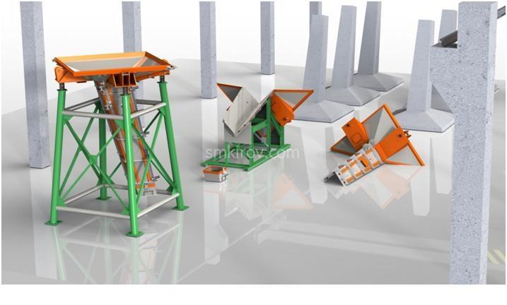 Металлоформы для производства фундаментов ЛЭП